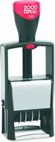 COSCO DATER 2360 1-1/4 in. x 1-13/16 in. Metal Self-Inking Dater