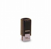 Custom Self-Inking Stamp 1/2 in. x 1/2 in. Good for up to 20,000 impressions before re-inking.
