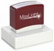 "XL2-225 MaxLight Custom Pre-Inked Stamp  2"" x 3"""