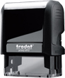 Custom Self-Inking Stamp 3/4 in. x 1-7/8 in. Good for up to 20,000 impressions before re-inking.