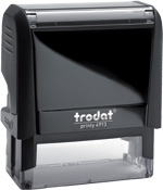 Custom Self-Inking Stamp 7/8 in. x 2-3/8 in. Good for up to 20,000 impressions before re-inking.