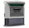 Custom Self-Inking Stamp 1 in. x 2-3/4 in. Good for up to 20,000 impressions before re-inking.